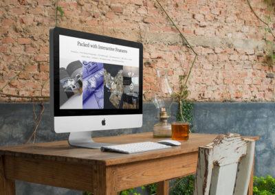 Matterport Wordpress Website Display on Desk
